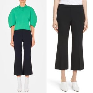 • Tibi • Anson Crop Bootcut Pants Black